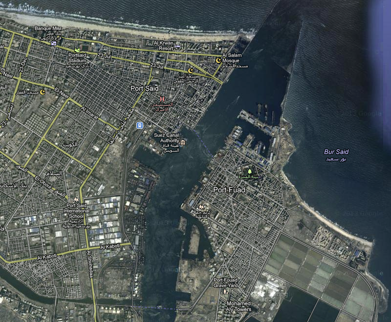 Port said leth suez with dangerous cargo to enter the main port said port it is constructed between the mediteranean sea and connects with the canal 17 kilometers south of publicscrutiny Gallery
